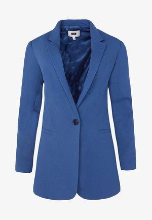 MIT STRUKTURMUSTER - Manteau court - blue