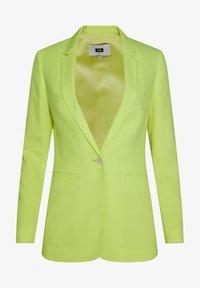 WE Fashion - MIT STRUKTURMUSTER - Cappotto corto - bright green - 4
