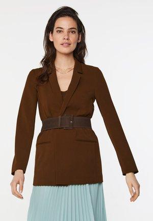 Cappotto corto - cognac