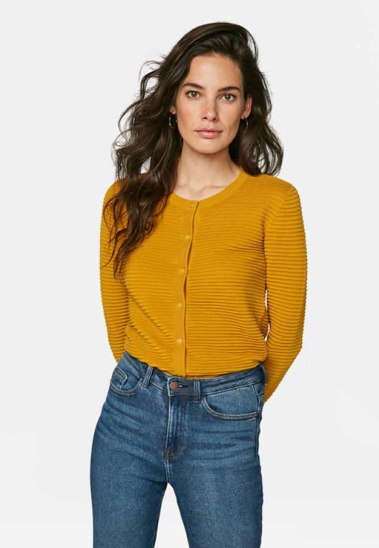 WE Fashion - Cardigan - mustard yellow