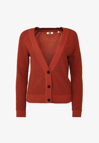 WE Fashion - Gilet - terra cotta - 4