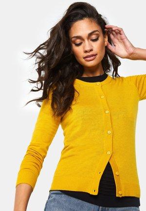 Cardigan - mustard yellow