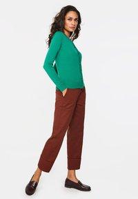 WE Fashion - Gilet - green - 1