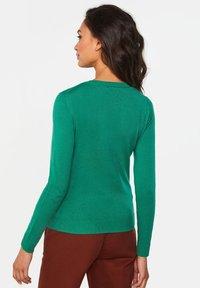 WE Fashion - Gilet - green - 3