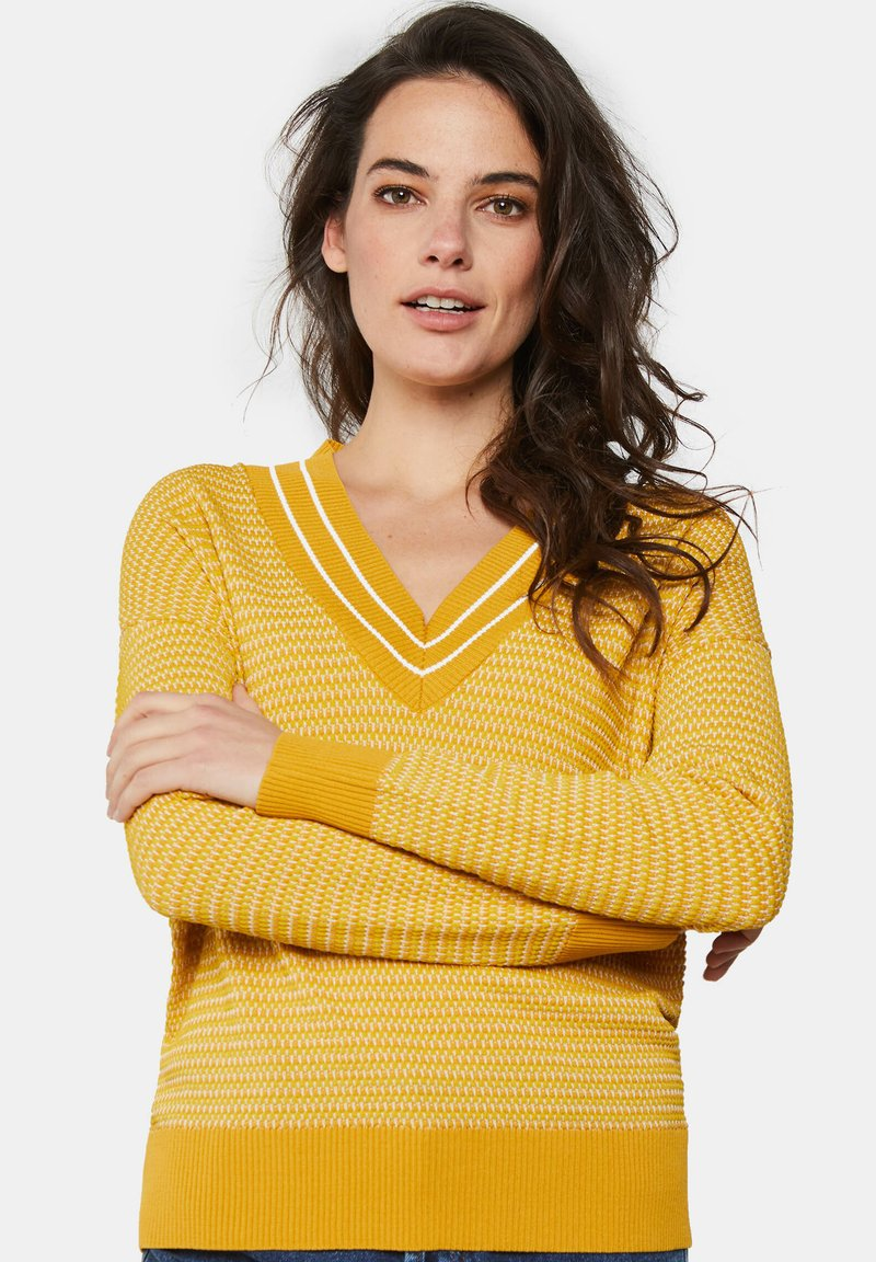 WE Fashion - Pullover - mustard yellow
