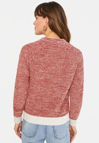 WE Fashion - WE FASHION DAMEN-POLOPULLOVER - Pullover - red - 2