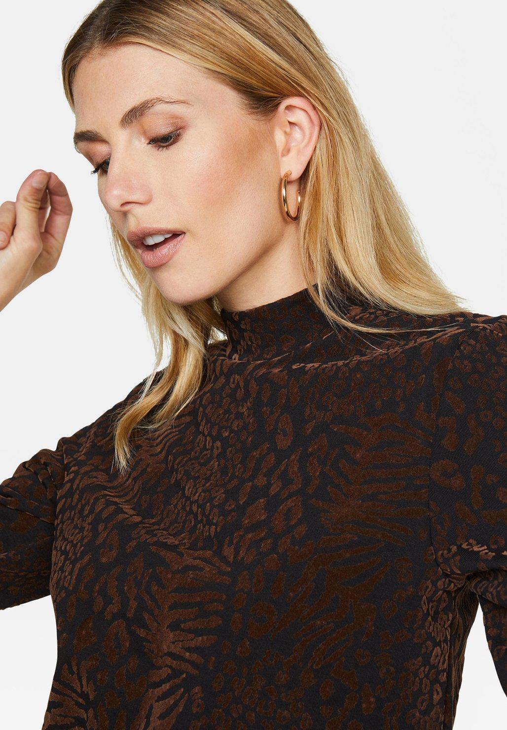 We Fashion Sweater Dark Brown bKwvVvhX