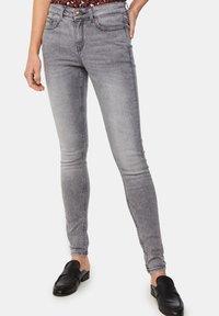 WE Fashion - Jeans Skinny - grey - 0