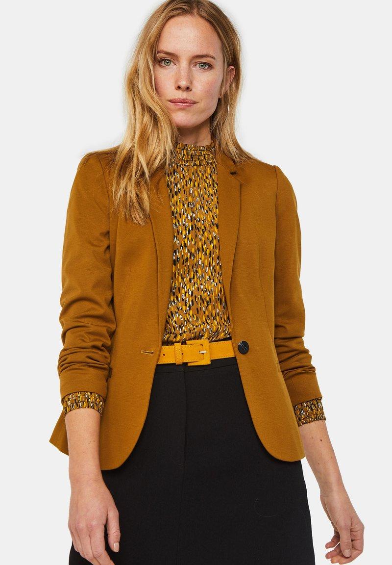 WE Fashion - WE FASHION DAMENBLAZER - Blazer - mustard yellow