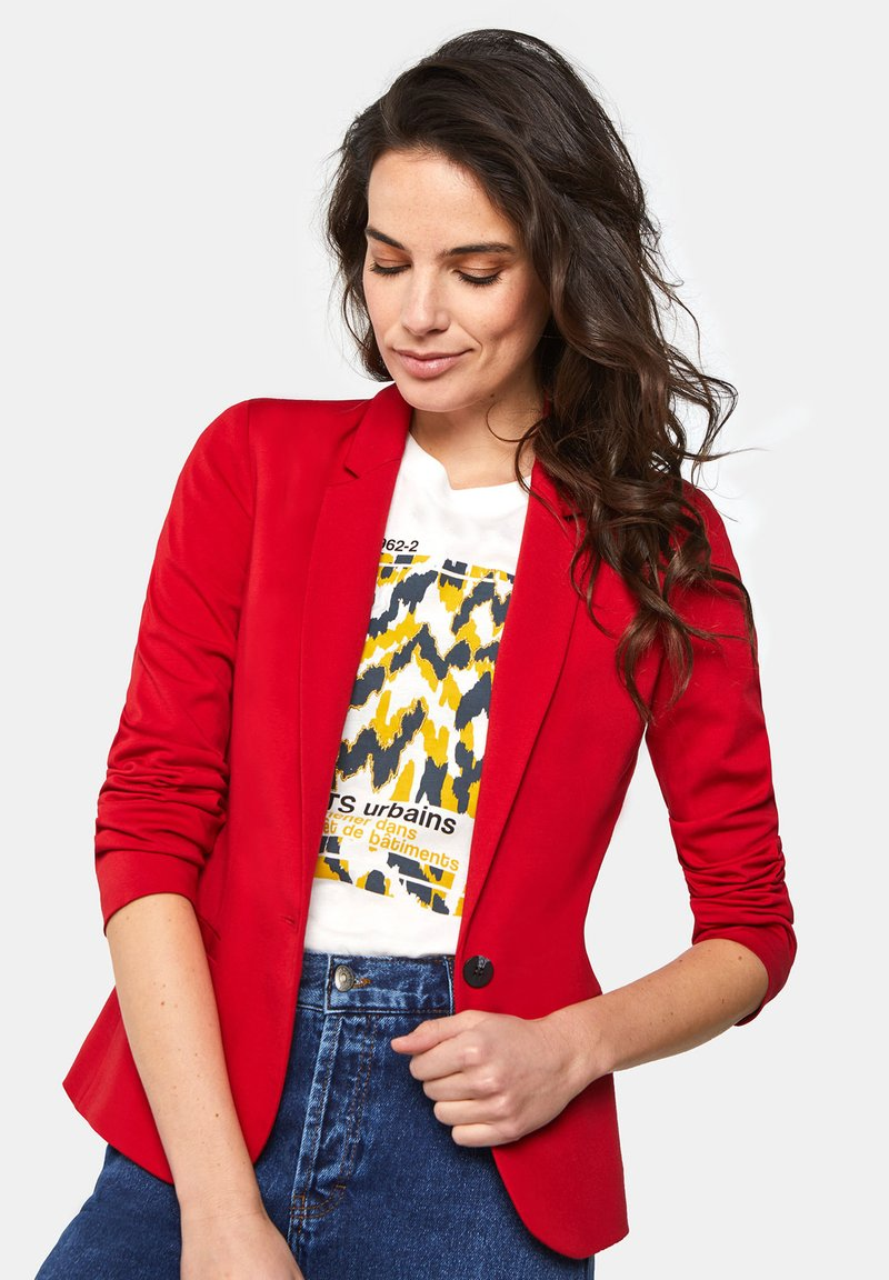 WE Fashion - WE FASHION DAMENBLAZER - Blazer - vintage red