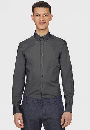 SLIM FIT STRETCH - Camisa - grey