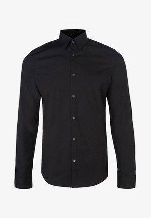 SLIM FIT STRETCH - Camisa - black