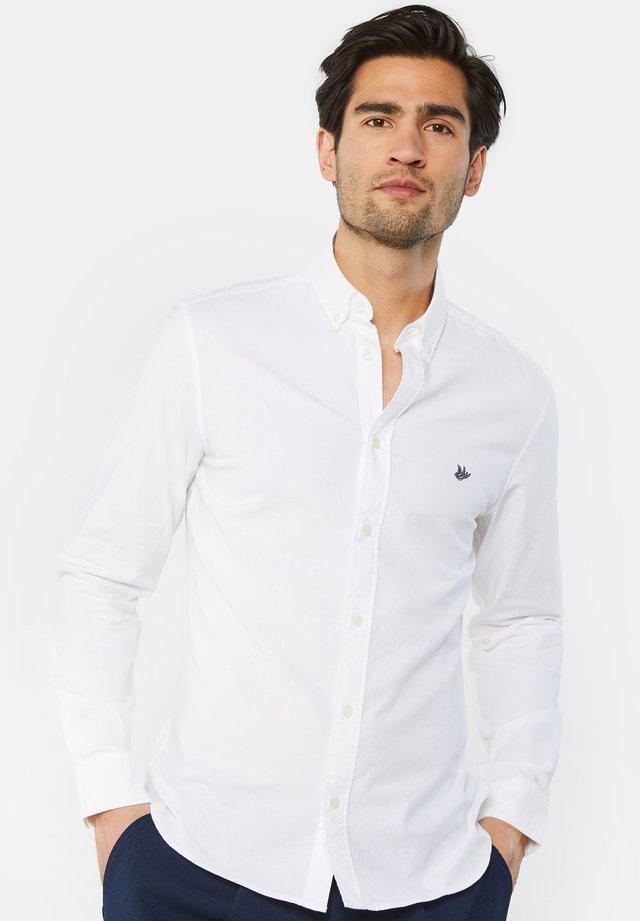 HERREN-SLIM-FIT-HEMD - Koszula - white