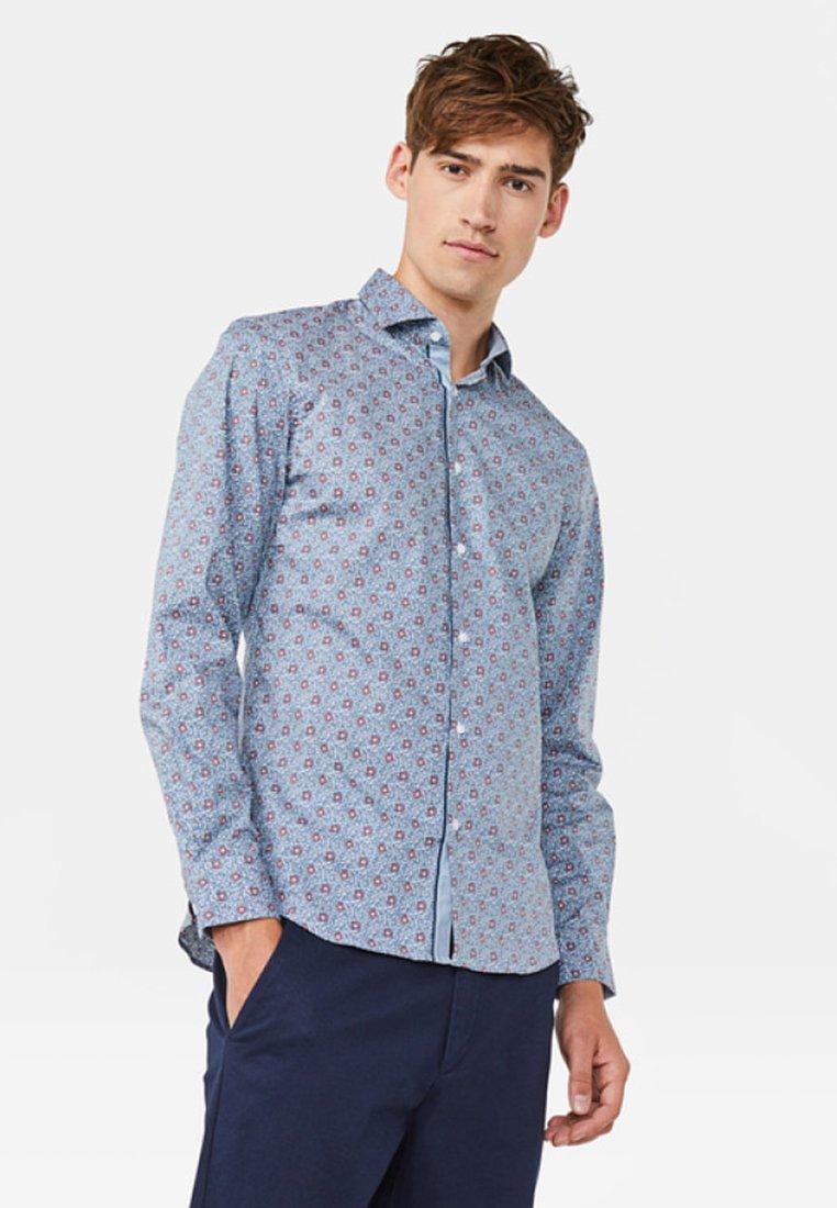 WE Fashion - MIT MUSTER - Hemd - greyish blue