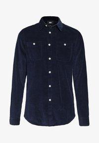 WE Fashion - Vapaa-ajan kauluspaita - dark blue - 3
