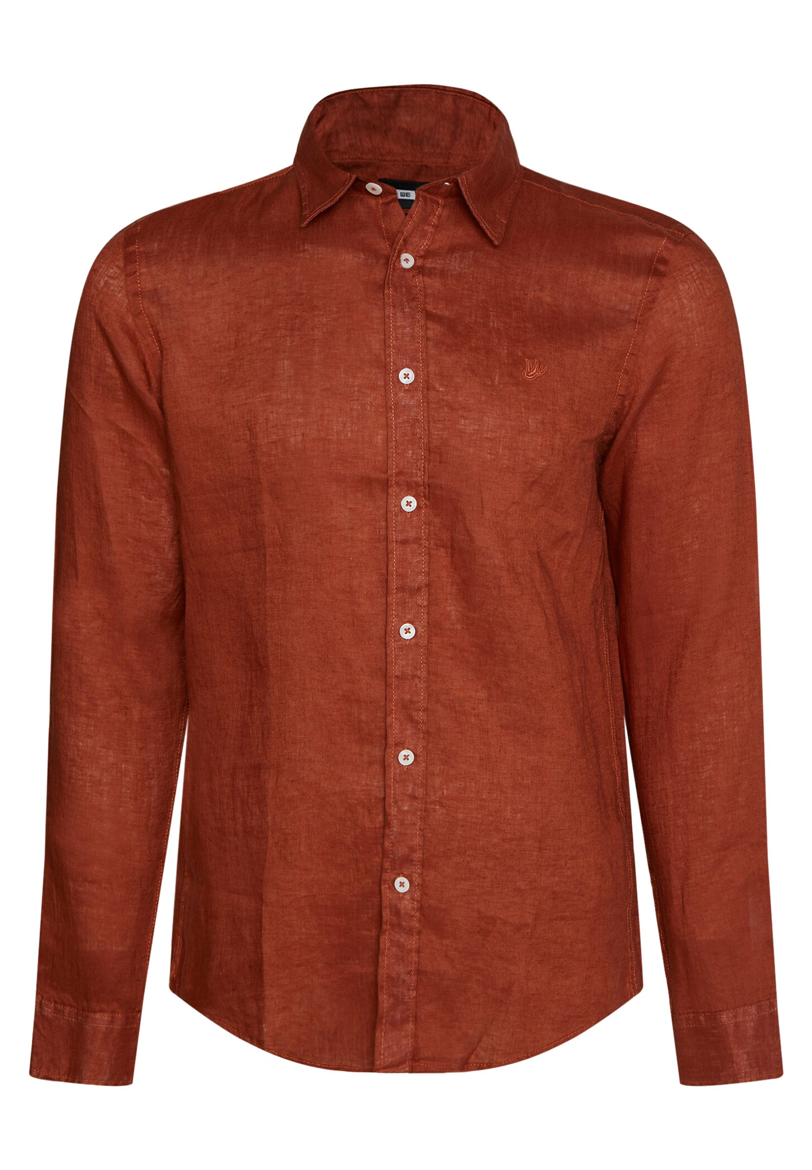 We Fashion Slim-fit - Hemd Orange SlxPLhLJ 03