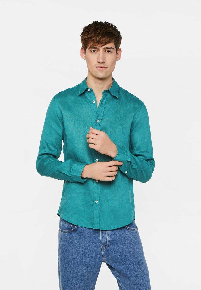 SLIM-FIT - Koszula - green