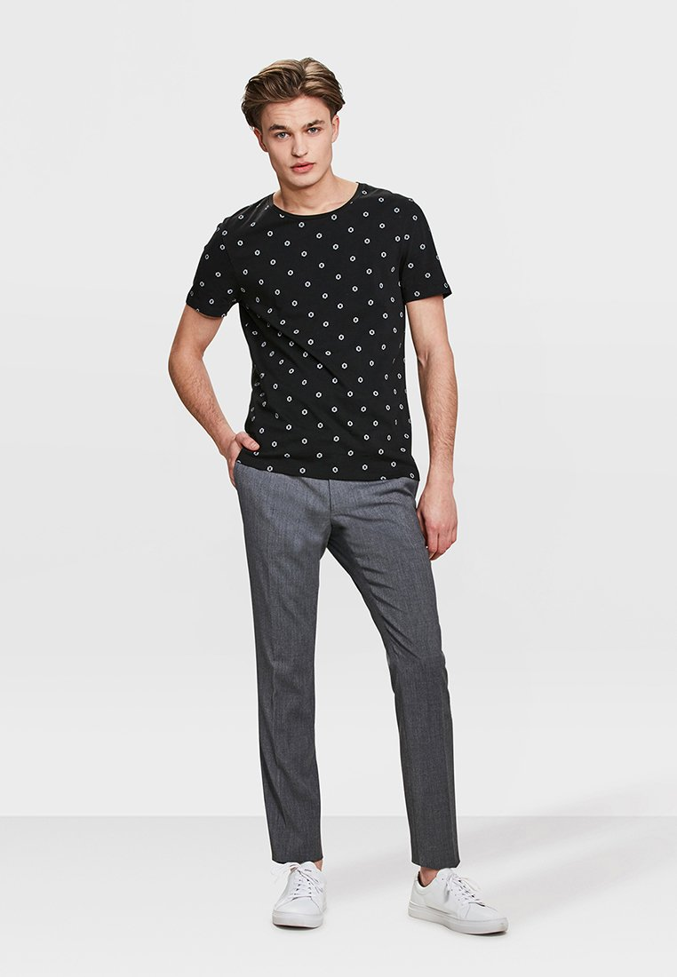 We Fashion Dali - Pantalon Black zgNR6Dq