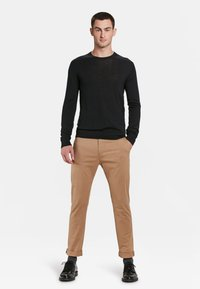WE Fashion - Chino -  light brown - 1