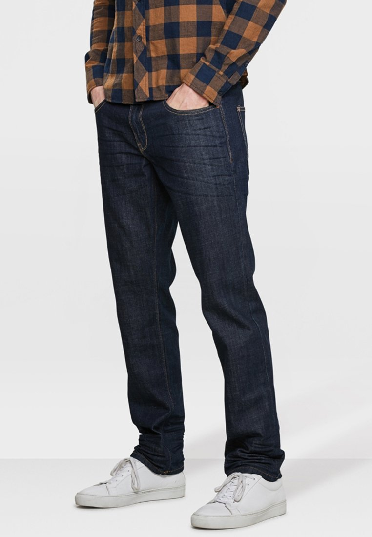 WE Fashion - Straight leg jeans - navy