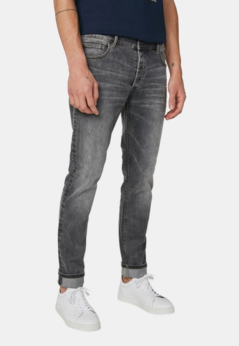 WE Fashion - DALLAS SLOANE - Slim fit jeans - grey denim