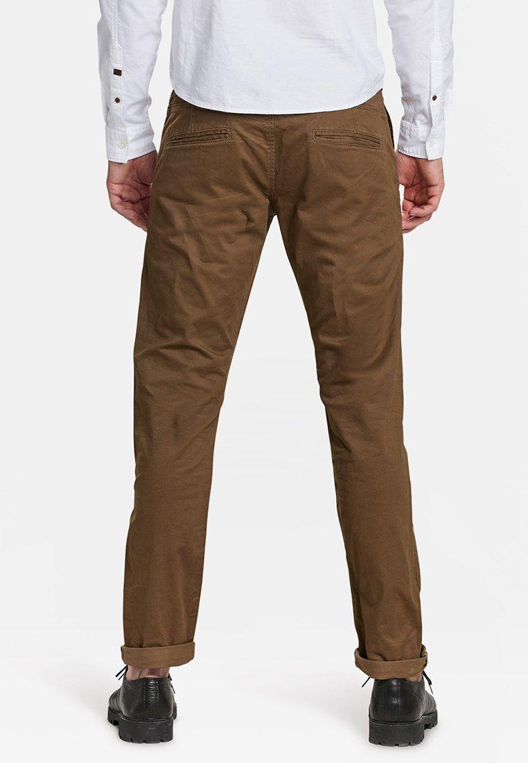 We Fashion Mit Tapered Leg - Chino Dark Brown