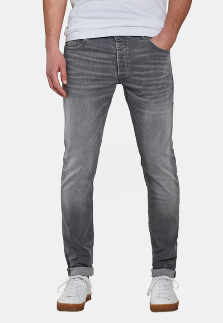 WE Fashion - Slim fit jeans - light grey