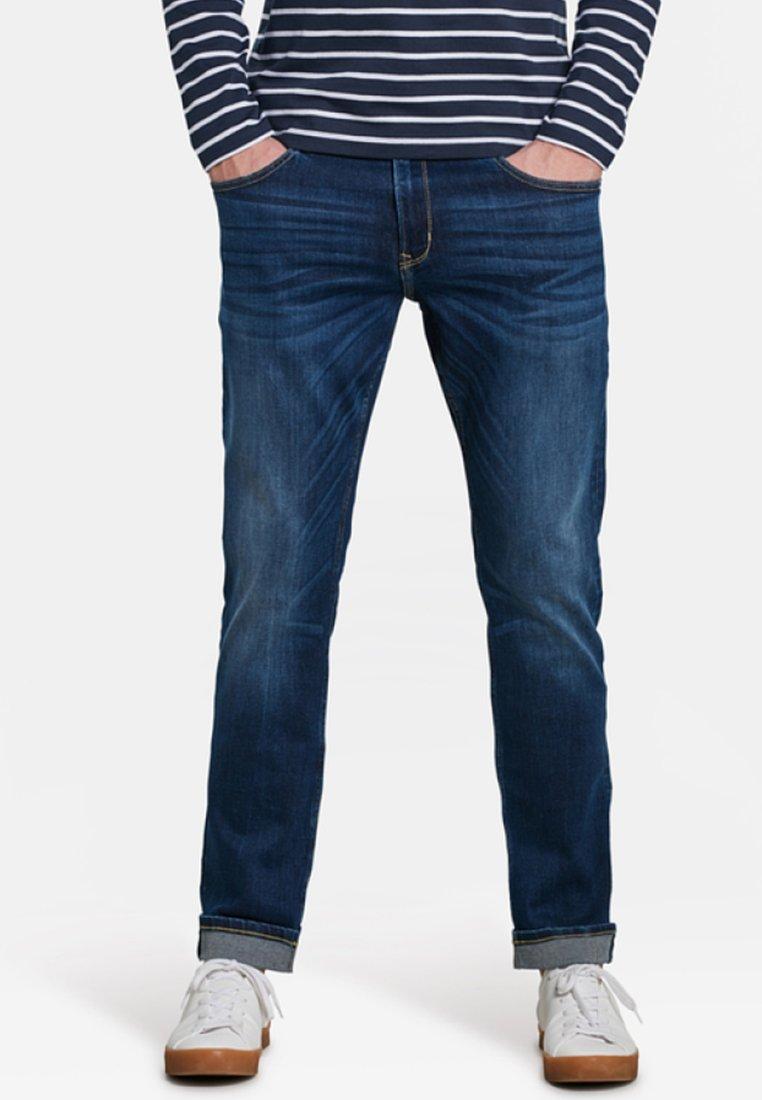 WE Fashion - Straight leg jeans - dark blue
