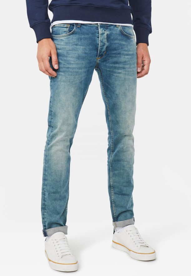 WE Fashion - Slim fit jeans - moss green