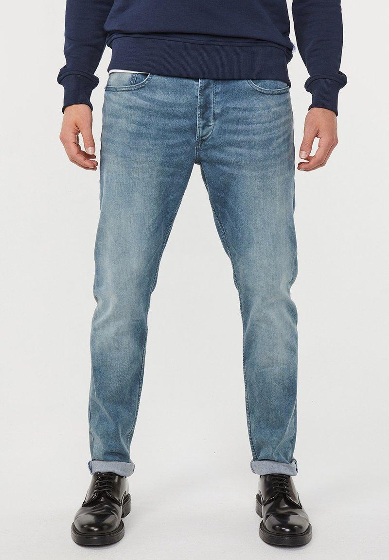 WE Fashion - SUPER STRETCH  - Jeans Skinny Fit - greyish blue