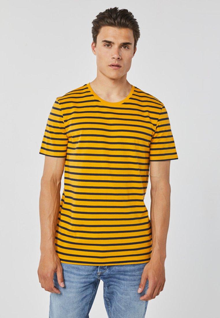 Imprimé Yellow shirt FitT We Regular Fashion Ochre zVqUMpS