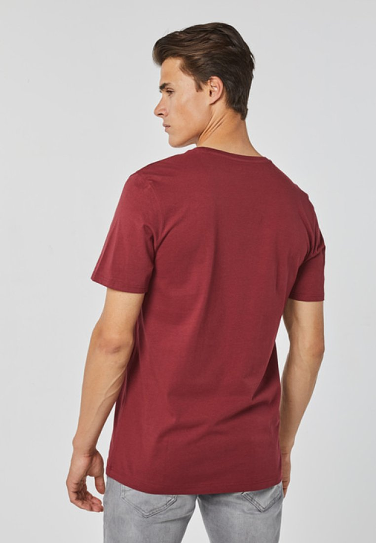 FitT We Regular Fashion shirt Burgundy Basique Red knOXP80w