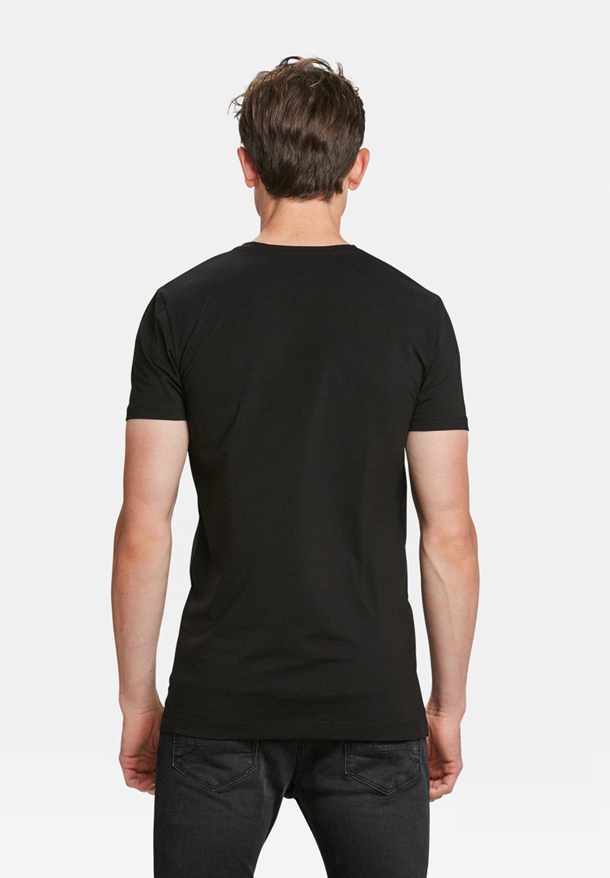WE Fashion 2-PACK - T-shirt basique - black
