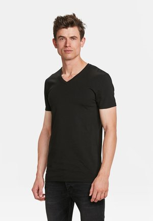 2-PACK - Basic T-shirt - black