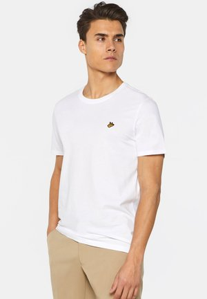 WE FASHION HERREN-T-SHIRT AUS BIO-BAUMWOLLE - T-shirt basic - white