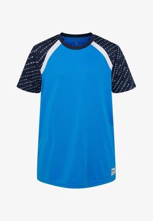 WE FASHION JUNGEN-SPORTSHIRT - T-shirt print - blue