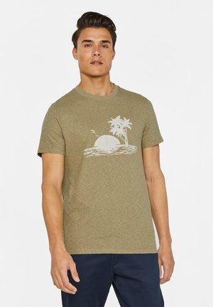MET PRINTOPDRUK - T-shirt con stampa - green