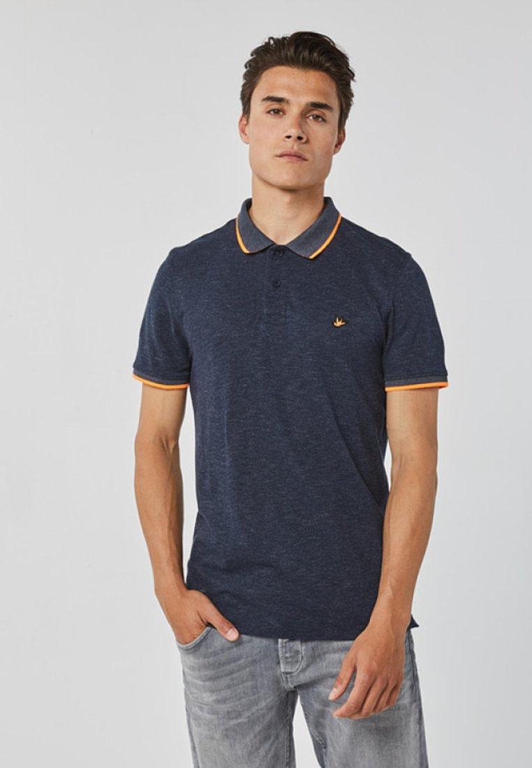 WE Fashion - REGULAR FIT - Polo shirt - navy blue