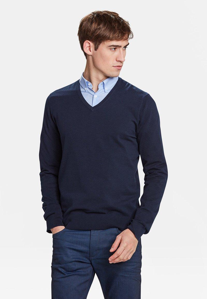 WE Fashion - Strickpullover - blue