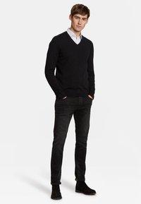 WE Fashion - Strickpullover - black - 1