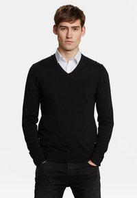 WE Fashion - Strickpullover - black - 0