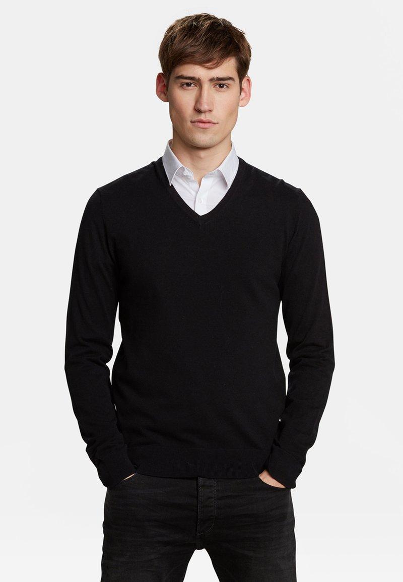 WE Fashion - Strickpullover - black