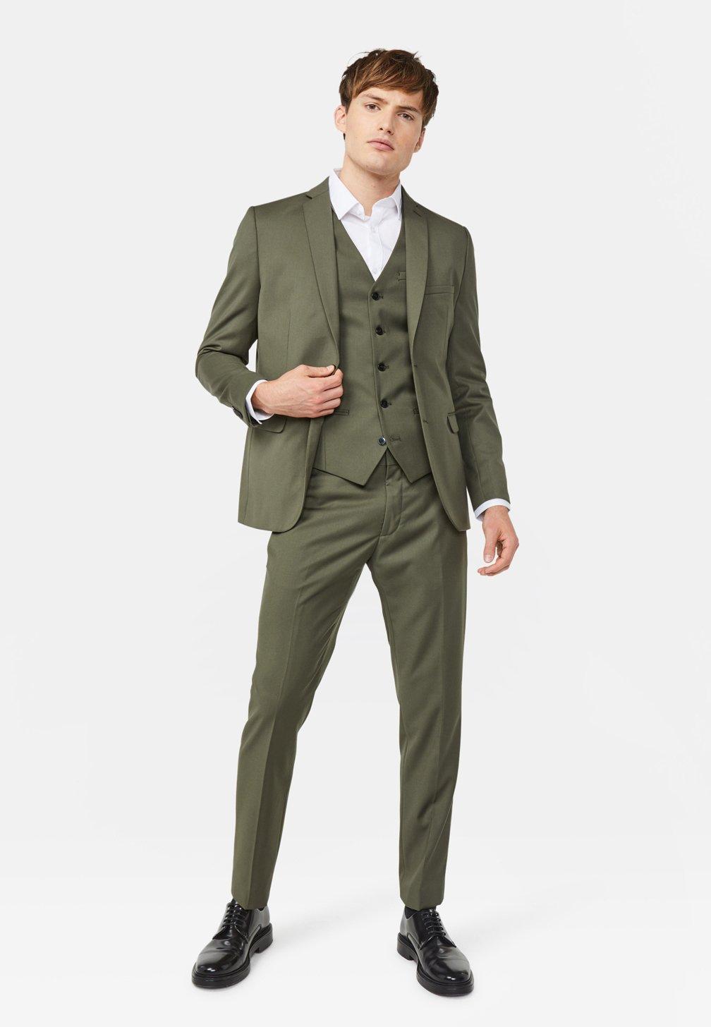 WE Fashion Giacca - olive green