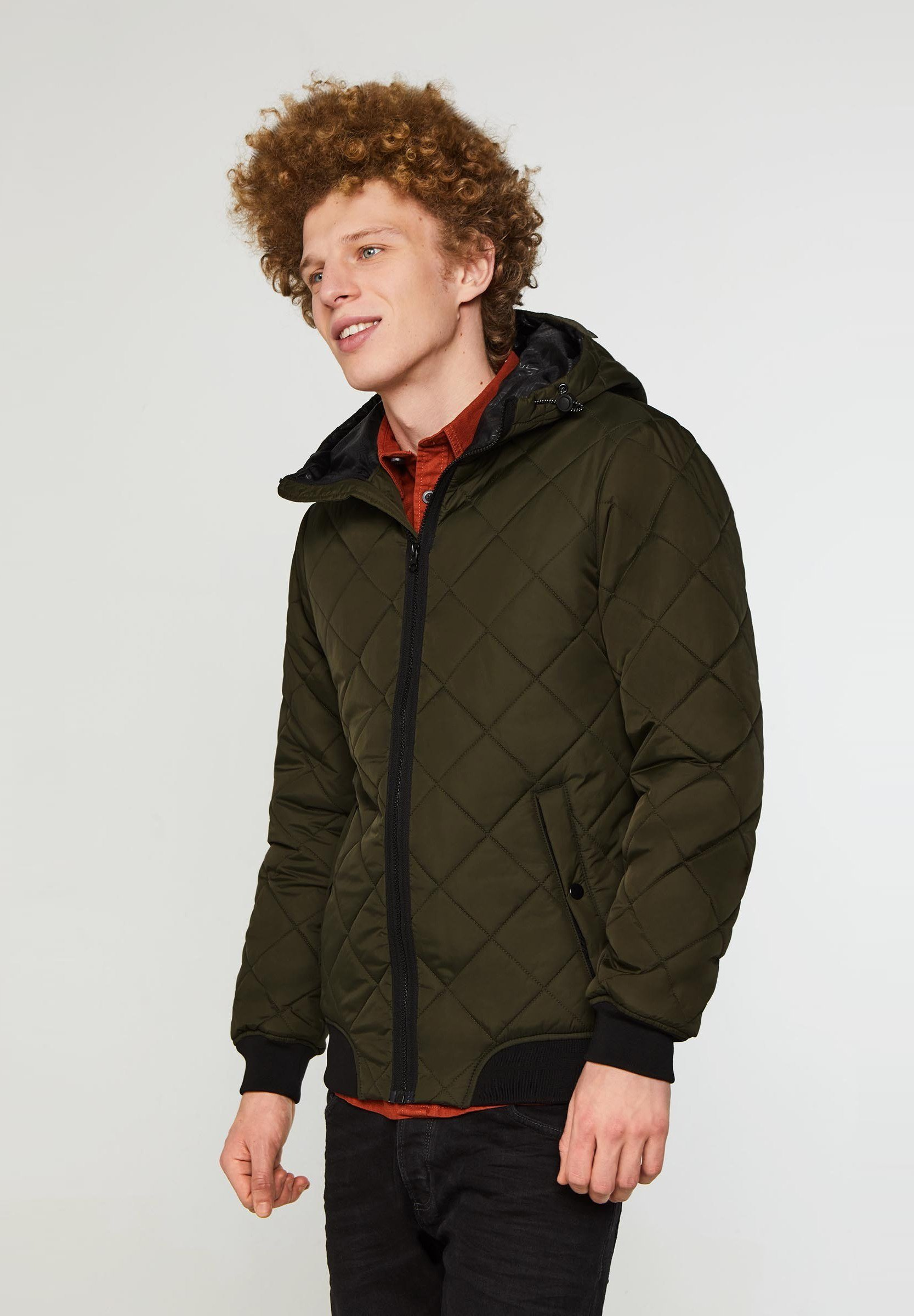 We Fashion Winterjacke - Army Green Black Friday