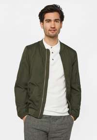 WE Fashion - WE FASHION HEREN LICHTGEWICHT BOMBERJACK - Bomberjacks - army green - 3