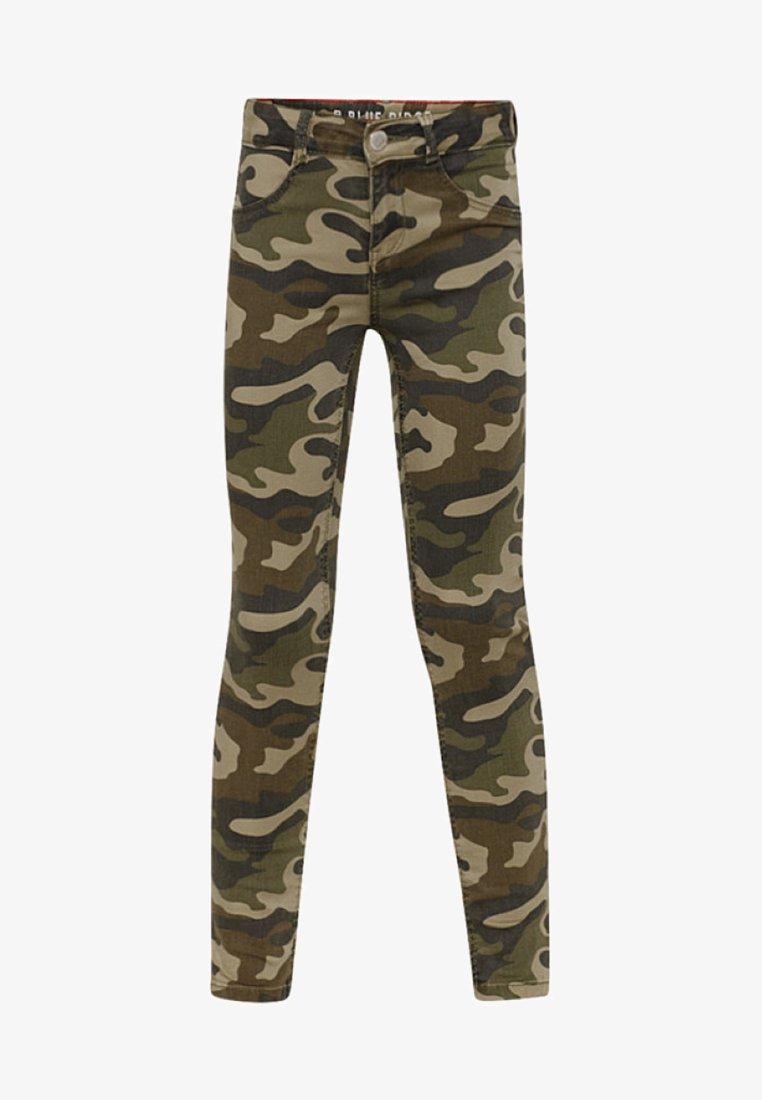 WE Fashion - Vaqueros pitillo - army green