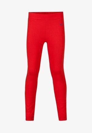 MEISJES  - Leggings - light red