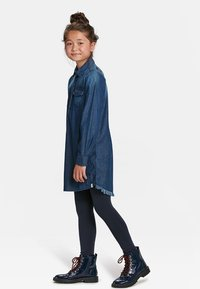 WE Fashion - MEISJES  - Leggings - dark blue - 0