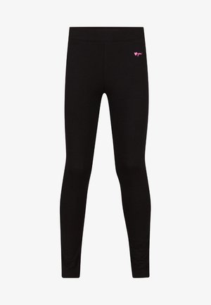 MEISJES  - Leggings - Trousers - black