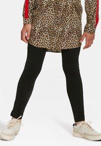 WE Fashion - MEISJES  - Leggings - Trousers - black - 1